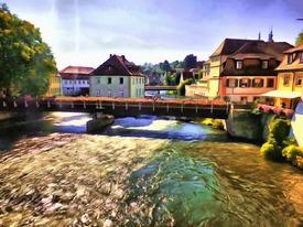 Bootstour auf der Regnitz in Bamberg